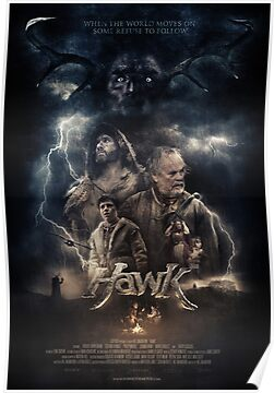 HAWK - Photographic Poster by WeAreCapture