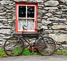 Rural Irish Countryside Village, Cottage, Photography. by upthebanner