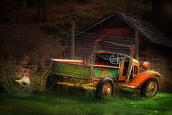 Old Fords never die, they just become picturesque 2 by John Poon
