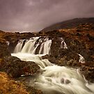 Mossdale Beck Falls by Brian Kerr