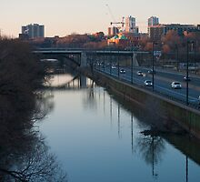 Don River From The Queen Street Bridge by Gary Chapple