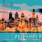Phila Bro Love - Paintographic Skyline by brandi1441