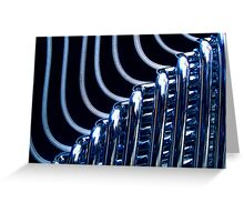 Industrial Elements Greeting Card