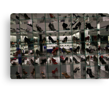 Shoes Store Canvas Print