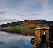 Ladybower Reservoir Tower by Michelle McMahon