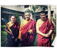 Khenpo Sonam,  Venerable Khenchen Palden Sherab Rinpoche and Khenpo Tashi Gyatso Poster