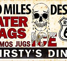 Route 66 - 700 miles desert by htrdesigns