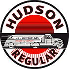 Hudson Gasoline vintage sign by htrdesigns