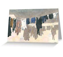 Watercolour Wash Greeting Card