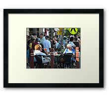 This is MY Town Framed Print