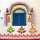 Artistic Facade - Nubian Village by Marilyn Harris