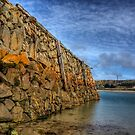 Douglas Quay at Low Tide - Alderney by NeilAlderney