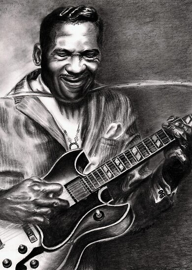 T-Bone Walker by Kathleen Kelly-Thompson
