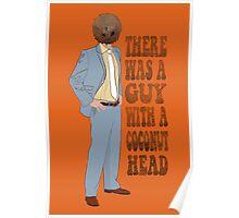 Mr Coconut Head Poster