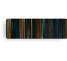 Moviebarcode: Pan's Labyrinth (2006) Canvas Print