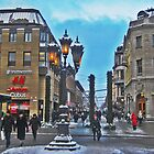 Uppsala in Winter by cfjrosa