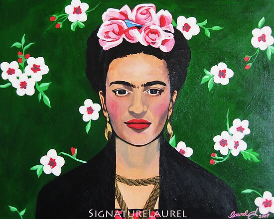 Frida Kahlo by signaturelaurel
