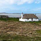 Thatched cottage by Hugh McKean