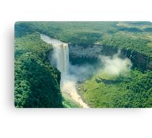 Kaieteur Falls Aerial View Canvas Print