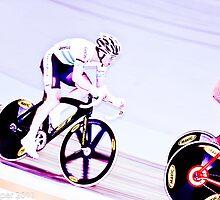 Cameron Meyer Madison world championships 2011 by Paul  Sloper