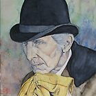 Peter Cushing by Astrid de Cock