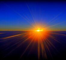 False  Sunset by Luke Griffin