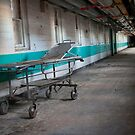 cold steel hospital bed by DariaGrippo