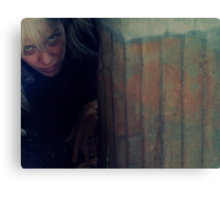 04-07-11:  Me As Bum Canvas Print