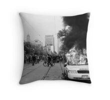 Burning Cruiser - G20, Toronto Throw Pillow