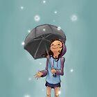 Dandelion Storm by Levene Wong