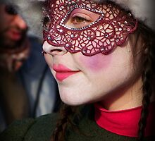 Masked Girl by Sunil Bhardwaj