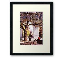 Spring In Washington Square, New York, NY Framed Print