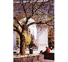Spring In Washington Square, New York, NY Photographic Print