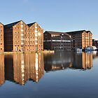 The Sun Shines on Gloucester Docks by Mick2010