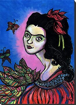 Folk Art Frida by Anita Inverarity