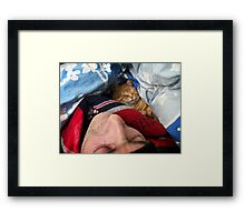 This is love! Framed Print