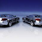Mercedes 3D Render by Nasko .