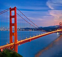 Golden Gate Bridge San Francisco by Raul Cevallos