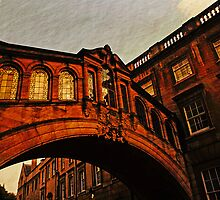 The Bridge of Sighs, Oxford, UK by buttonpresser