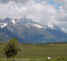 Grand Tetons by David Kessler