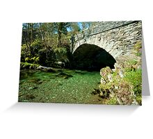 Bridge over Elterwater Greeting Card