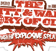 Hewitt and Walker Screen Printed Sticker
