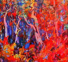 Barryennie Fauve Forest by Richard  Tuvey