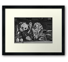 Beatles and Friends Framed Print