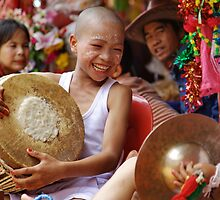 Shan Poy Sang Long festival, Thailand by John Spies