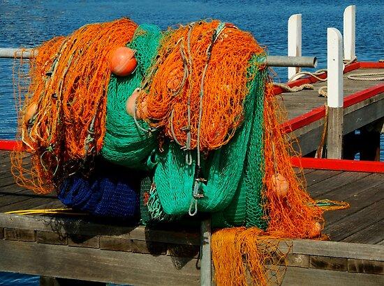 Fishing Nets by Joe Mortelliti