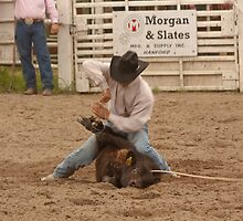 Calf Roping by Buckwhite