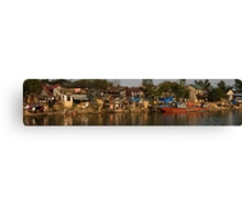 Hue River Life 3 - Panorama Canvas Print