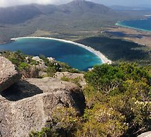 Wineglass Bay, Freycinet National Park by Jane McDougall