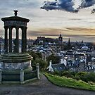 Edinburgh Skyline  by tayforth